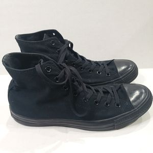 CONVERSE CHUCK TAYLOR Black High Top Shoes 12